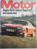 Motor Magazine - 21 February 1976 - Jaguar XJ-S, Toyota Celica, Rally Guide