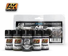AK02037 AK Interactive - Exhaust Stains Weathering Set