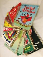 Vintage Children's Books Lot Of 11 Books all from a Little Golden Book