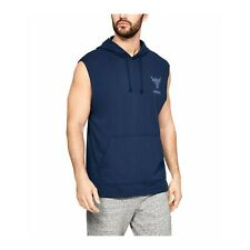 Under Armour Training Men's Gym Project Rock Terry Sleeveless Hoodie 1345819-408