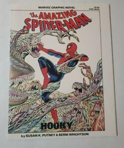 MARVEL GRAPHIC NOVEL#22 (Marvel,1986) Amazing Spider-Man Hooky, 1st Print NM/MT