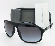 Emporio Armani sunglasses EA4029 50638G 64mm  Black Grey Gradient GENUINE Square