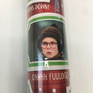 A Christmas Story Holiday Classic Ralphie Gift Wrapping Paper Roll 60 Sq Ft