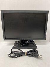 DELL E1709WC 17'' WIDESCREEN FLAT PANEL LCD MONITOR W/ POWER CORD & VGA CABLE