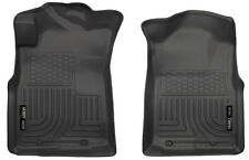 Husky Liners 2005-2015 Toyota Tacoma Front Floor Mats Black Weatherbeater 13941