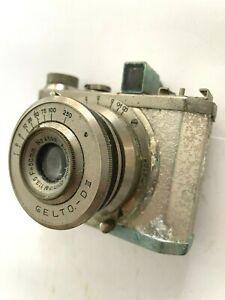 Vintage Pre-War Gelto D III model Camera w Grimmel F=50mm No 4598 No 3751