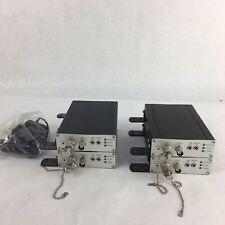 Lot of 4: SENSORMATIC NV412A-ADT Wired IP Video Server Analog Encoder Converter