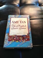 """""""The Hundred Secret Senses"""" SIGNED by Amy Tan HB DJ 1st Edition, 1st Printing"""