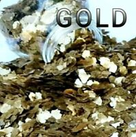"""Vintage Style All Natural Mica Glitter, 1/8"""" Mica Flakes, 4 CUPS!"""