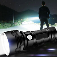 3 modes LED Flashlight XHP50 Torch USB Rechargeable Waterproof Lamp Ultra Brigh