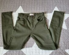 NWOT ZARA KIDS Boys army green  PANTS SLIM SZ 9