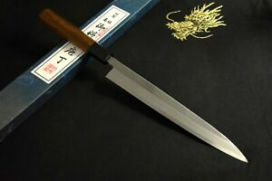 Japanese Kitchen / Chef knives *Mint in Box* Unknown White 2 Yanagiba 240mm 1241
