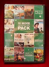 DVD - 10-Movie Family Adventure Pack, Vol. 1 (2011, Full Frame)
