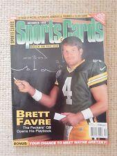 BRETT FAVRE magazine SportsCards December 1998 price guide Green Bay Packers