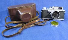 "EXC! Rare Zorki-3 Russian RF film camera with Jupiter-8 2/50 ""П""  lens M39"
