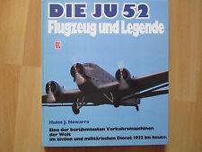 Les Ju 52 avion et légende, H. J. Nowarra, 1. édition 1986