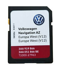 volkswagen seat sd karte navigationssoftware karten f r gps systeme im auto ebay. Black Bedroom Furniture Sets. Home Design Ideas