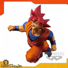 Action Figure of Goku Super Saiyan God Dragonball Son Gokou Fes Snowman 7 7/8in