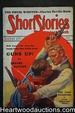 Short Stories Aug 25, 1928 James B. Hendryx Frank Richardson Pierce Ernest Hayco