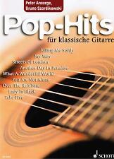 Gitarre Noten : Pop Hits für klassische Gitarre  --   mittelschwer