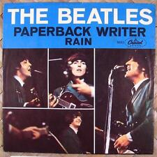 Beatles Paperback Writer 45 with East Coast Picture Slee