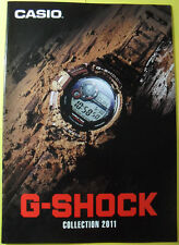 Casio G-Shock 2011 Collection Book Watch Catalog