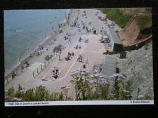 POSTCARD B34-12 DEVON SIDMOUTH - HIDE TIDE AT JACOBS LADDER BEACH