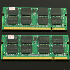 2GB MEMORY 2x1GB DDR2 533 PC2-4200 533MHZ SO-DIMM 200PIN RAM SODIMM Laptop RAM
