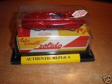 1961 Fiat Abarth 1:43  Solido #1109 Re-edition MIB