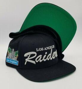 ⭐BRAND NEW⭐ Los Angeles Raiders Superbowl XVIII Snapback Hat Custom w/Patches