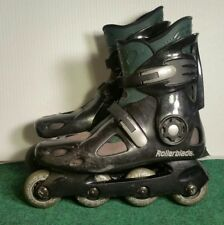Vintage Rollerblade Spirit Blade Inline Skates Men's size 11 Black Green