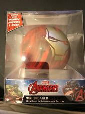Marvel Avengers Portable Mini Speaker With Built In Rechargeable Battery