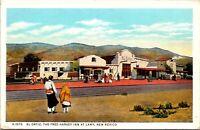 Postcard El Ortiz, The Fred Harvey Inn at Lamy, New Mexico~136002