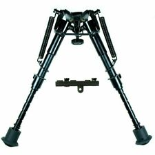 "6"" to 9"" Adjustable Spring Return Sniper Hunting Rifle Bipod with KeyMod Adapter"