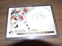 2017-18 SP Authentic kevin shattenkirk Sign of the Times Auto SOTT-KS