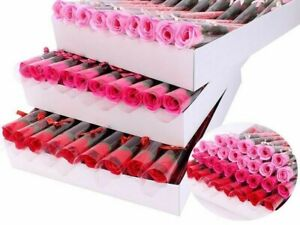 Artificial Soap Rose Flower Branches For Mother's Day Gift Ideas Promotion Roses