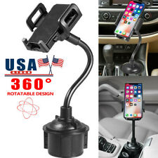 Universal Car Mount Cup Cradle Holder Adjustable Gooseneck For Cell Phone GPS US