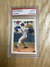 1992 Bowman Pedro Martinez Card #82 PSA 9 Mint