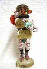 "Vintage Hopi 15"" HEHEYA Kachina Doll Katsina Carved by Ramson Honanhie c1950s"