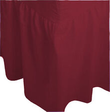 Single Size Plain Fitted Valance Bed Sheet