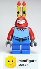 bob023 Lego SpongeBob SquarePants 3833 - Mr. Krabs Large Grin Minifigure - New