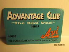 Avi Hotel & Casino -Advantage Card, Laughlin, Nv. -nice