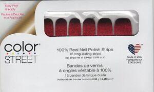 CS Nail Color Strips Bloody Gorgeous! 100% Nail Polish - USA Made!