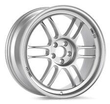 17x7 Enkei RPF1 4X100 +43 Silver Wheels (Set of 4)