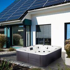 Outdoor Whirlpool Hot Tub mit Heizung LED Ozon Jakuzzi für Garten 7 Personen Spa