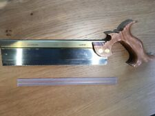 More details for lie nielsen thin plate dovetail saw 15ppi rip .015