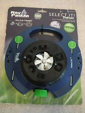 BRAND NEW Ray Padula Select It! Deluxe 9-Pattern Turret Sprinkler