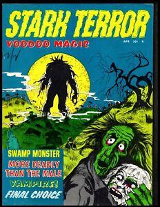 STARK TERROR #3 FINE (VOODOO MAGIC) 1971 STANLEY
