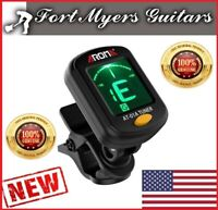 Guitar Tuner Chromatic LCD DIGITAL Clip On Electric  F Bass Ukulele Violin cello