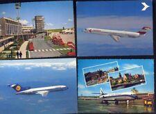 Konvolut Ansichtskarten Flugzeug und Flughafen 3
